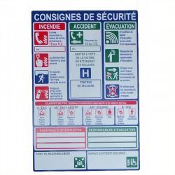 Consignes de sécurité
