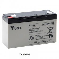 Batterie YUASA 6V 12Ah