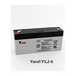 Batterie YUASA gel 6V 3,2Ah